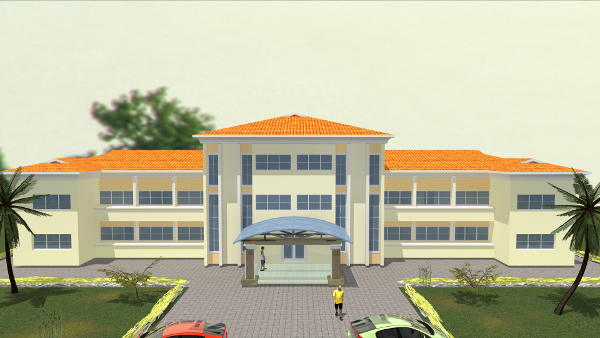 ADMIN BLOCK FRONT VIEW
